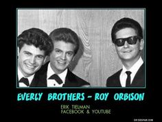 Everly Brothers & Roy Orbison~ Claudette~ 2 demos  video by Erik Tielman