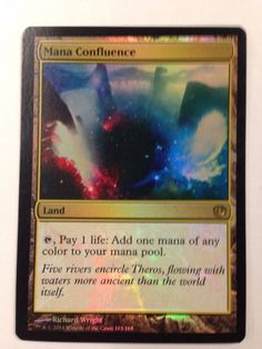 Magic the Gathering: Foil Mana Confluence from the set Journey Into Nyx NM #WizardsoftheCoast #mtg