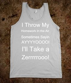 I'll Take A Zero! - Funny and Inspiring - Skreened T-shirts, Organic Shirts, Hoodies, Kids Tees, Baby One-Pieces and Tote Bags