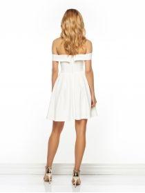 Sukienka Julietta w kolorze kremowym
