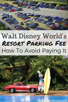 All about the NEW resort parking fee at Walt Disney World + 3 ideas for avoiding it altogether! Disney World Hotels, Disney World Parks, Disney World Planning, Walt Disney World Vacations, Disney World Resorts, Disney Travel, Disney World Tips And Tricks, Disney Tips, Disney Ideas