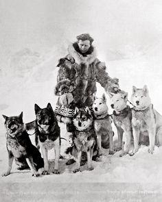 Leonhard Seppala and his huskies (x)
