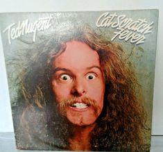 Ted Nugent Cat Scratch Fever LP 1977 Epic Records JE-34700 EX/EX VINYL Hard Rock #HardRock