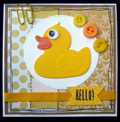 Scrapspul van Colien: Hello! Marianne Design, Baby Design, Baby Cards, Tweety, Paper Art, Van, Inspiration, Bebe, Everything