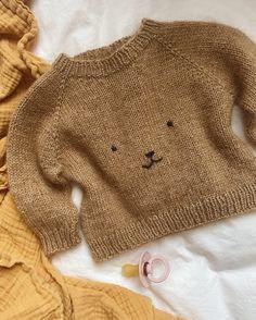 Ravelry: Teddy Bear Sweater pattern by PetiteKnit Kids Knitting Patterns, Baby Sweater Patterns, Baby Sweater Knitting Pattern, Knitting For Kids, Baby Patterns, Baby Knitting, Doll Patterns, Crochet Teddy Bear Pattern, Knitted Teddy Bear
