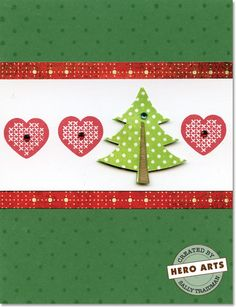 Hero Arts Cardmaking Idea: Heartfelt Holiday