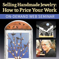 Selling Handmade Jewelry: How to Price Your Work Live Web Seminar with Noël Yovovich - Jewelry Making Daily Selling Online, Selling On Ebay, Balance Design, Easy Jobs, Spring Sign, Elements Of Design, Colorful Socks, You Working, Selling Jewelry