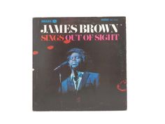 1968 James Brown Sings Out of Sight Vinyl Record SRS 1-67109