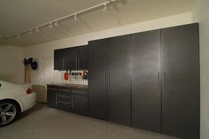 Garages - contemporary - garage and shed - dc metro - Tailored Living feat PremierGarage of Northern VA