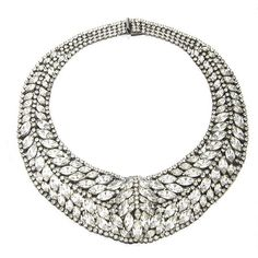 LOVE this fabulous statement necklace! Called the Taylor I wonder if it is named after THE Taylor (I'm talking Elizabeth of course)