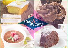 Γλυκά με λίγες θερμίδες! 5 light συνταγές για να μην στερείσαι την αγαπημένη σου γεύση