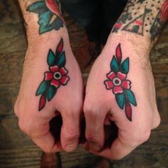 fuckyeahtraditionaltattoos: Kor'Rier Brown - Brooklyn , NY IG: @kbrowntattoo