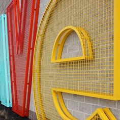 wire cloth letters for Retail Signage, Wayfinding Signage, Signage Design, Cafe Design, Environmental Graphic Design, Environmental Graphics, Architectural Signage, Sign Board Design, Exterior Signage