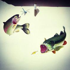 Murales for a  fisherman