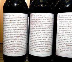 'Case of the IPA' beer bottle detective series