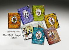 Six books in Series of Magic Sceptre.