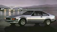 Toyota Celica Supra 1984. I loved the looks of these cars! I was in 8th grade at the time and couldn't get enough reading about and spotting new cars.