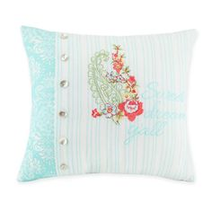 Product Image for Jessica Simpson Ellie Boudoir Throw Pillow in Blue 1 out of 2