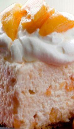 Fresh Peach Cheesecake
