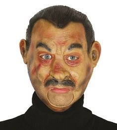 REALISTIC MAN Mask Open Mouth Halloween Vampire Fancy Dress Eat Drink Talk | eBay Realistic Halloween Masks, Vampire Fancy Dress, Halloween Vampire, Cosplay, Drink, Eat, Dresses, Gowns, Awesome Cosplay