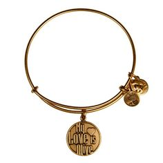 Love this My Love is Alive Charm Bangle