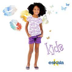 As meninas vão ficar na moda com os looks da Eskala!