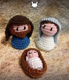 Fuente: http://www.amigurumibypebie.blogspot.com.es/2013/12/christmas-ornament-iii-nativity-set.html