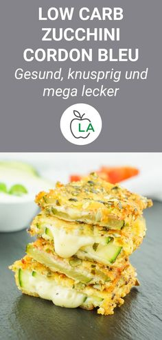 Cordon Bleu - Vegetarian or classic low carb recipe - This cordon bleu is one of the best low carb zucchini recipes for losing weight. Here you will find -Zucchini Cordon Bleu - Vegetarian or classic low carb recipe - This cordon ble. Low Carb Zucchini Recipes, Healthy Dinner Recipes, Low Carb Recipes, Healthy Snacks, Vegetarian Recipes, Slimming Recipes, Recipe Zucchini, Zucchini Cordon Bleu, Law Carb