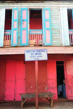 Old Caribbean house, Pestel, Haiti