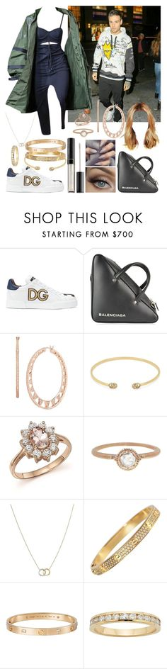 """""""In Morandi in NYC with Liam"""" by khalifeh ❤ liked on Polyvore featuring Puma, Dolce&Gabbana, Balenciaga, Dana Rebecca Designs, Gucci, Bloomingdale's, Megan Thorne, Marco Bicego and Cartier"""