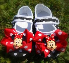 Minnie Mouse shoes I wouldn't wear these. But they are so stinkin cute for a little girl!!!