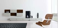 Modern Minimalist Living Room Designs by MobilFresno | DigsDigs