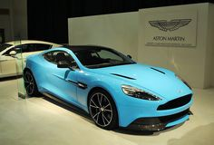 2013 Aston Martin Vanquish...love the color!