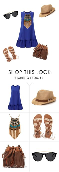"""""""Untitled #834"""" by louneia ❤ liked on Polyvore featuring Cynthia Rowley, Leslie Danzis, Billabong, Diane Von Furstenberg and Smoke & Mirrors"""