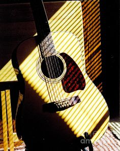 2699f7355 My Guitar - photograph by Steven Reed. Fine art prints and posters for sale.