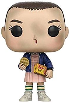 From Stranger Things, Eleven with Eggos, as a stylized POP vinyl from Funko. Stylized collectable stands inches tall, perfect for any Stranger Things fan. Collect and display all Stranger Things POP Vinyl's. Stranger Things Funko Pop, Stranger Things Quote, Stranger Things Aesthetic, Stranger Things Season 3, Eleven Stranger Things, Toy Art, Funko Pop Figures, Pop Vinyl Figures, Dani Olivier