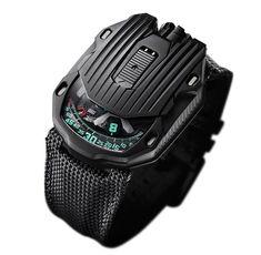 Urwerk Streamliner Black in Steel and Titanium Sport Watches, Watches For Men, Apple Watch 1, Watch Blog, Hand Watch, Watch 2, Amazing Watches, Mechanical Watch, High Jewelry