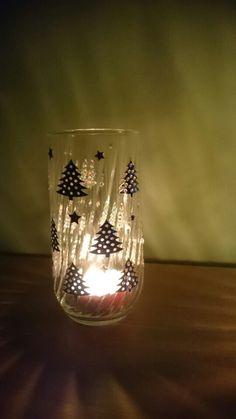 Xmas candle holder