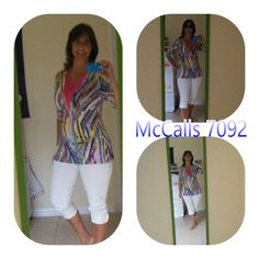 PatternReview> McCall's 7092 Misses' Tops and Dresses