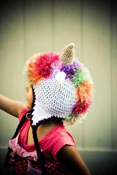 Maya's Wonderland: Crochet unicorn hat - Free crochet pattern