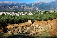Sparta is a city in Laconia, on the Peloponnese in Greece.  Sparta reached the height of its power in 404 B.C. after its victory against Athens in the second Peloponnesian war.
