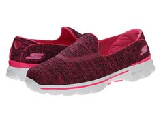 My everyday favorite shoes to throw on and run out for walking around town, shopping, hanging with nephews, etc.  There's nothing more comfortable, in my opinion, than a pair of Skechers Go Walk shoes.  These also happen to match all of my exercise attire.  ;)