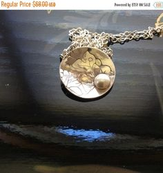 Hey, I found this really awesome Etsy listing at https://www.etsy.com/listing/267851062/sale-lily-and-pearl-etched-domed-pendant