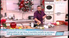 Entertv: Μοσχαράκι θρακιώτικο και πατατούλες βουτυράτες από τον Βασίλη Κ... Cooking Recipes, Meat, Food, Cooker Recipes, Chef Recipes, Meals, Yemek, Recipes, Eten
