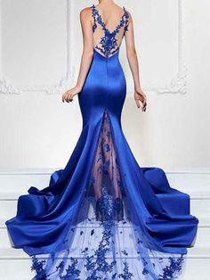 High-End Sexy Evening Dress Fishtail Dress Dresses Elegant, Sexy Dresses, Beautiful Dresses, Fashion Dresses, Prom Dresses, Formal Dresses, Dresses 2016, Dress Prom, Glamour Dresses