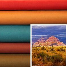 Canyon Storm - available soon at Marmalade Fabrics