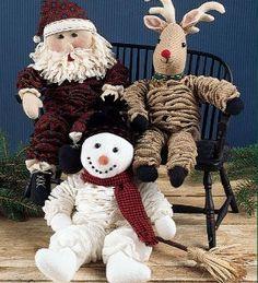 YO-yo santa sewing patterns | Yo! Yo! Yo! Yuletide! | Indygo Junction Blog More
