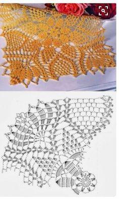 Crochet Doily Diagram, Crochet Mandala Pattern, Crochet Flower Tutorial, Granny Square Crochet Pattern, Crochet Chart, Crochet Squares, Thread Crochet, Filet Crochet, Crochet Doilies