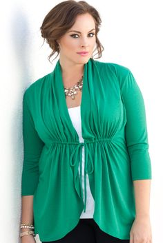 Be pinch-proof this St. Patrick's Day and stay comfortable in our plus size Sunset Stroll Bellini.  Explore our entire made in the USA collection online at www.kiyonna.com.  #KiyonnaPlusYou