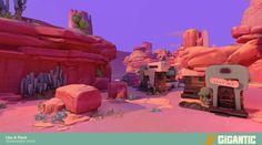 Mais artes do game Gigantic, do estúdio Motiga | THECAB - The Concept Art Blog